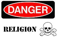 Warning! Religion may damage your health!